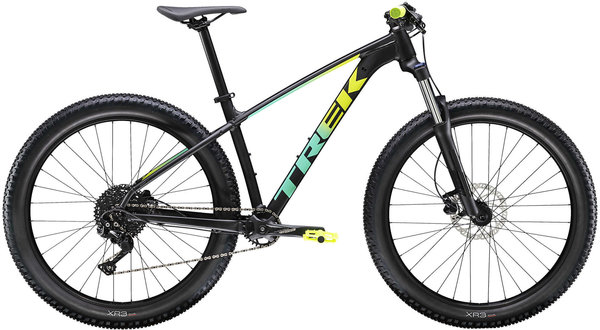 Trek Roscoe 6 Color: Matte Black/Volt Miami Fade