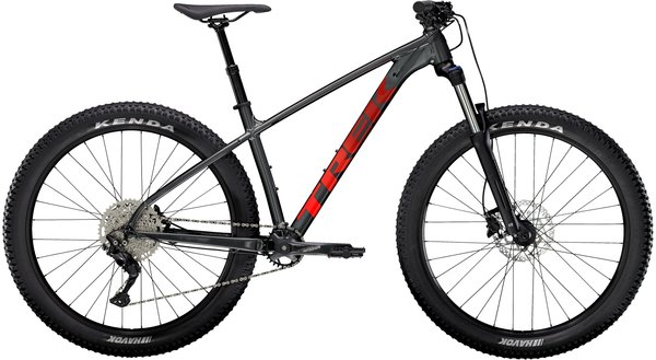 Trek Roscoe 6 Color: Lithium Grey/Cobra Blood