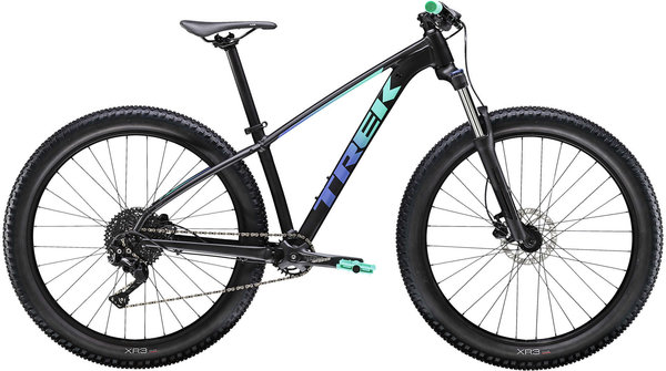 Trek Roscoe 6 Women's Color: Matte Black/Gloss Miami Green Fade