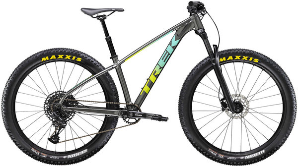 Trek Roscoe 7 Women's Color: Anthracite/Volt to Miami Green Fade