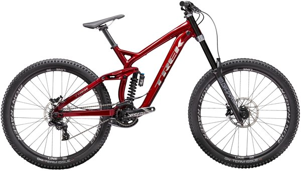 Trek Session 8 27.5 Color: Rage Red