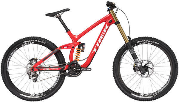 Trek Session 9.9 DH 27.5 Race Shop Limited Color: Viper Red