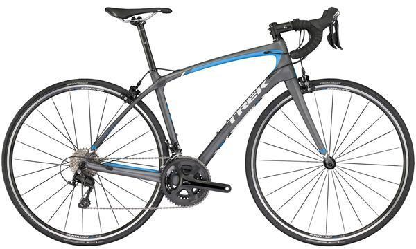 Trek Silque S 5 Women's Color: Matte Metallic Charcoal/Waterloo Blue