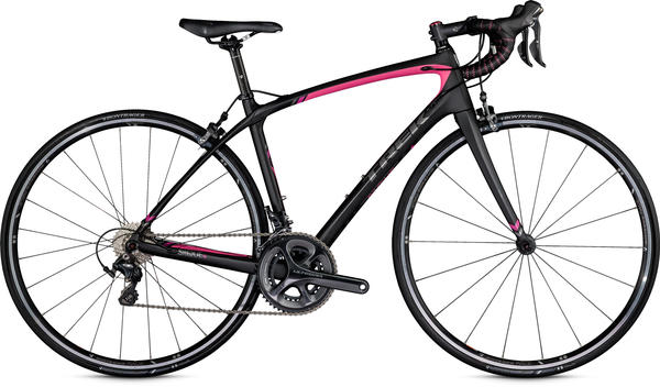 Trek Silque SL - Women's Color: Matte Trek Black/Flamingo Pink