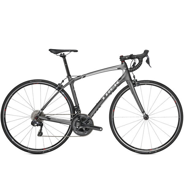 Trek Silque SL Di2 - Women's Color: Matte Charcoal/Bright Silver