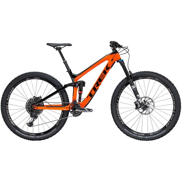 Trek Slash 9.8 Color: Trek Black/Roarange