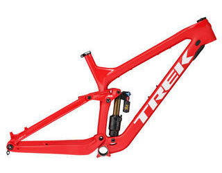 Trek Slash 29 Carbon Frameset Color: Matte Viper Red/Gloss Viper Red