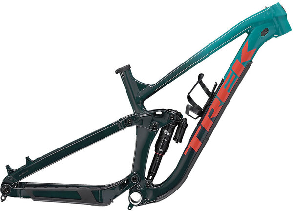 Trek Slash AL Frameset Color: Teal to Nautical Navy Fade