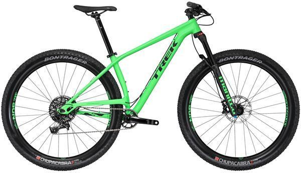 Trek Stache 7 Color: Matte Green-light