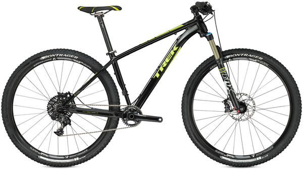 Trek Stache 8 Color: Starry Night Black/Volt Green