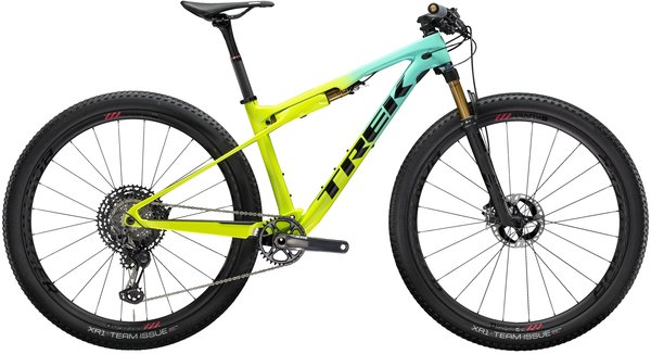 Trek Supercaliber 9.7 Color: Miami Green to Volt Fade