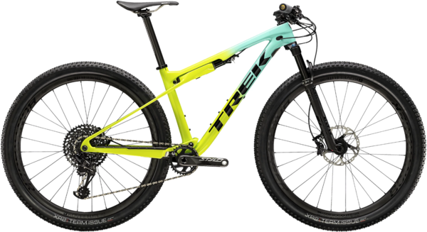 Trek Supercaliber 9.8 Color: Miami Green to Volt Fade