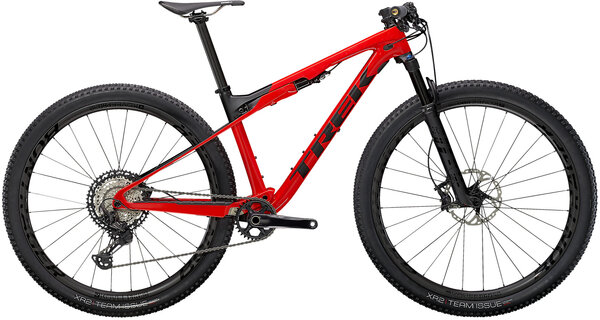 Trek Supercaliber 9.8 XT Color: Gloss Radioactive Red/Matte Black