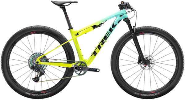 Trek Supercaliber 9.9 AXS Color: Miami Green to Volt Fade