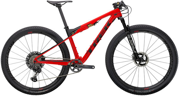 Trek Supercaliber 9.9 XTR Color: Gloss Radioactive Red/Matte Black