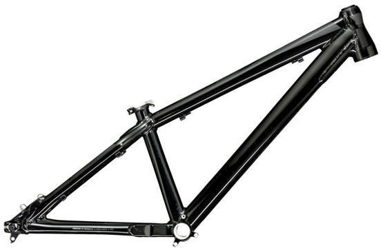 Trek Ticket DJ Frame Color: Gloss Trek Black/Matte Trek Black