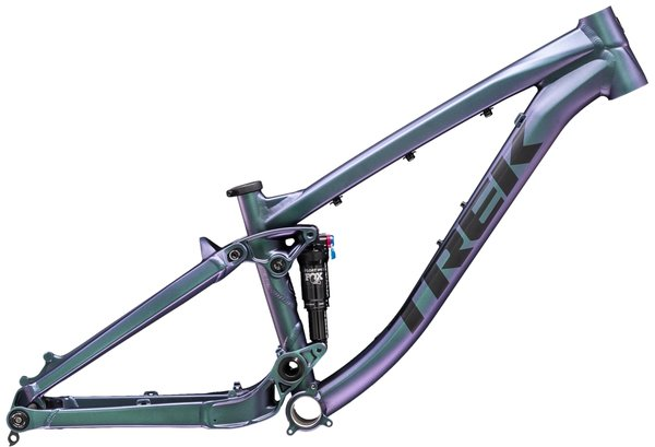 Trek Ticket S Frameset Color: Matte Emerald Iris