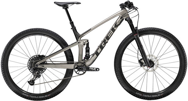 Trek Top Fuel 9.7 Color: Matte Carbon/Gloss Trek Black