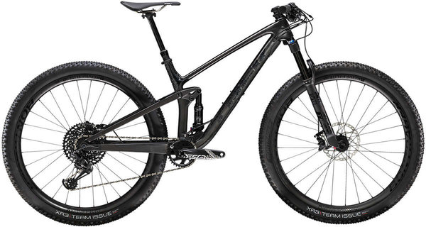 Trek Top Fuel 9.8 Color: Matte Carbon/Gloss Trek Black