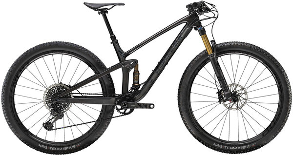Trek Top Fuel 9.9 Color: Matte Carbon/Gloss Trek Black