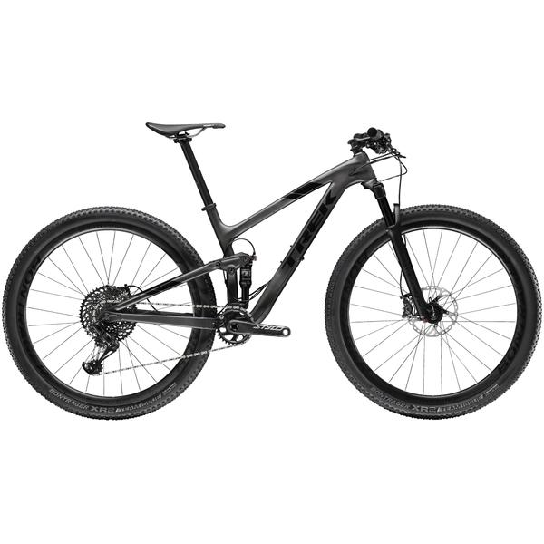 Trek Top Fuel 9.8 SL Color: Matte Carbon Smoke