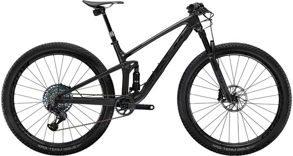 Trek Top Fuel 9.9 AXS Color: Matte Carbon/Gloss Trek Black