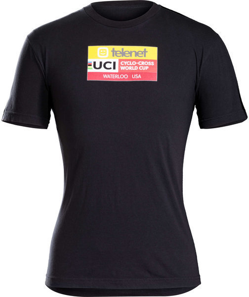 Trek UCI World Cup Waterloo Women's T-Shirt Color: Black