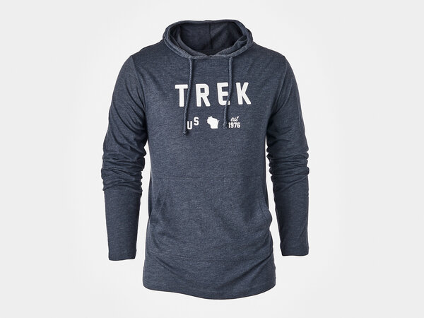 Trek US Hoodie Color: Blue
