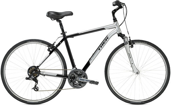 Trek Verve 2 Color: Sparkling Silver/Metallic Black