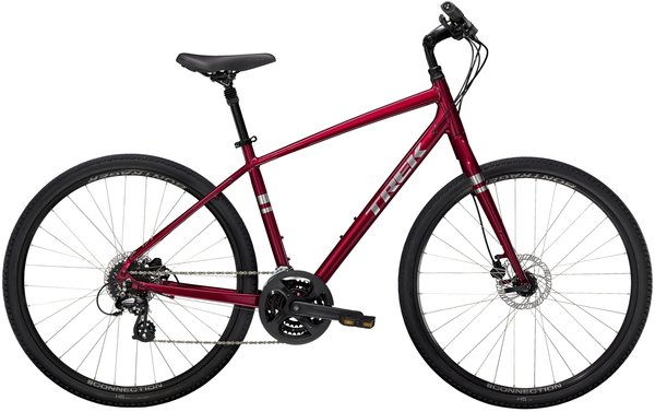 Trek Verve 2 Disc Color: Rage Red