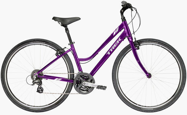 Trek Verve 2 Women's Color: Purple Lotus