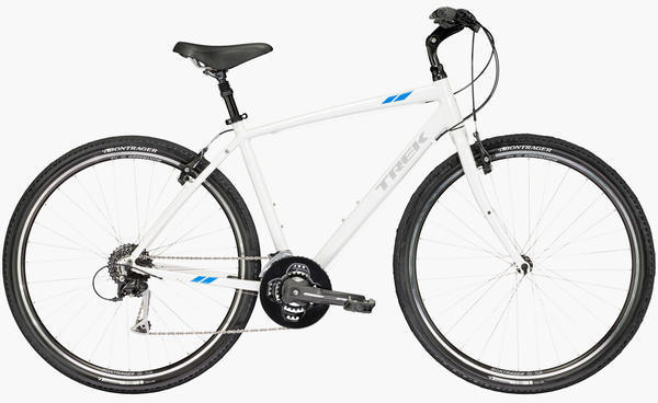Trek Verve 3 Color: Crystal White