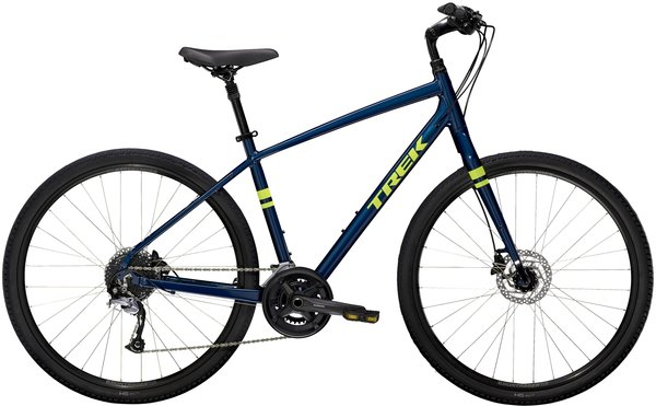 Trek Verve 3 Disc Color: Mulsanne Blue