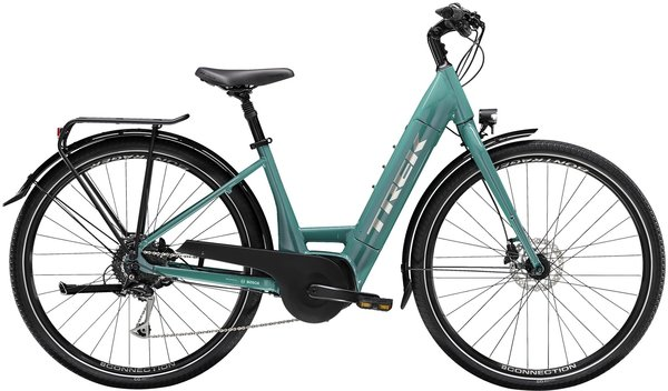 Trek Verve+ 3 Lowstep Color: Teal
