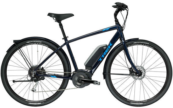Trek Verve+ Color: Deep Dark Blue