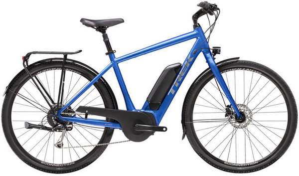Trek Verve+ 2 Color: Matte Alpine Blue
