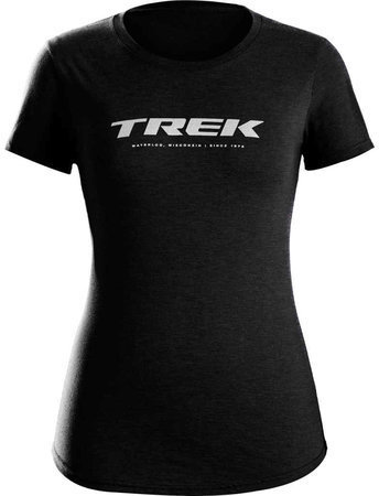 Trek Waterloo Women's T-shirt Color: Black
