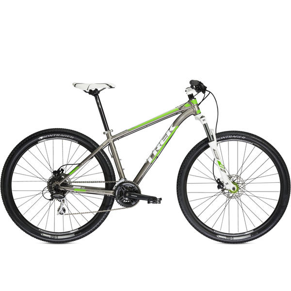 Trek X-Caliber 5 (Gary Fisher Collection) Color: Signature Silver/Team Green