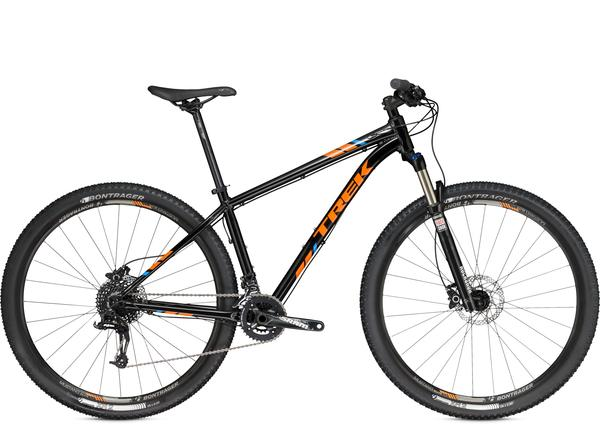 Trek X-Caliber 8 Color: Trek Black/Firebrand