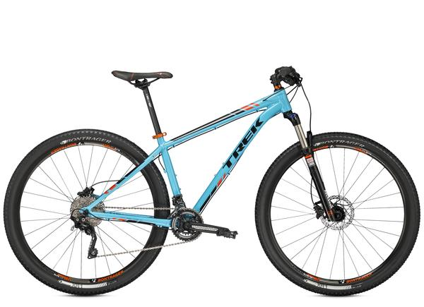 Trek X-Caliber 9 Color: Nysa Blue/Rhymes with Orange