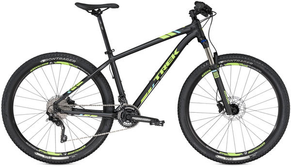 Trek X-Caliber 9 Color: Matte Trek Black/Volt Green