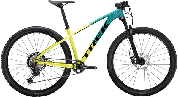 Trek X-Caliber 9 Color: Teal/Volt Fade