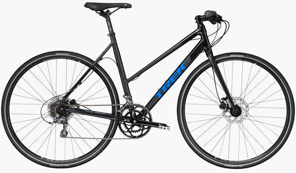 Trek Zektor 2 Stagger Color: Gloss & Matte Black Pearl