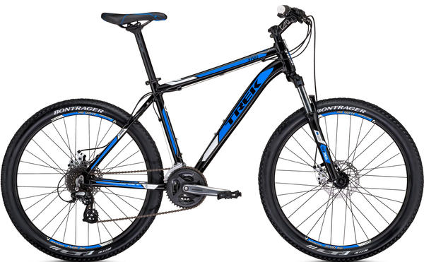 Trek 3700 Disc Color: Metallic Black/True Blue