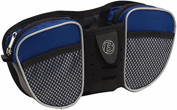Bontrager Kids' Handlebar Bag Color: Light Blue/Gray