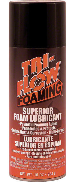 Tri-Flow Foaming Lube Size: 10oz aerosol