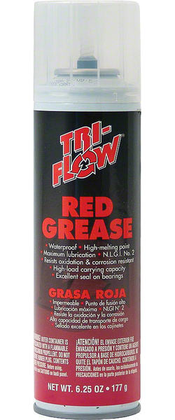 Tri-Flow Red Grease Size: 6.25-ounce