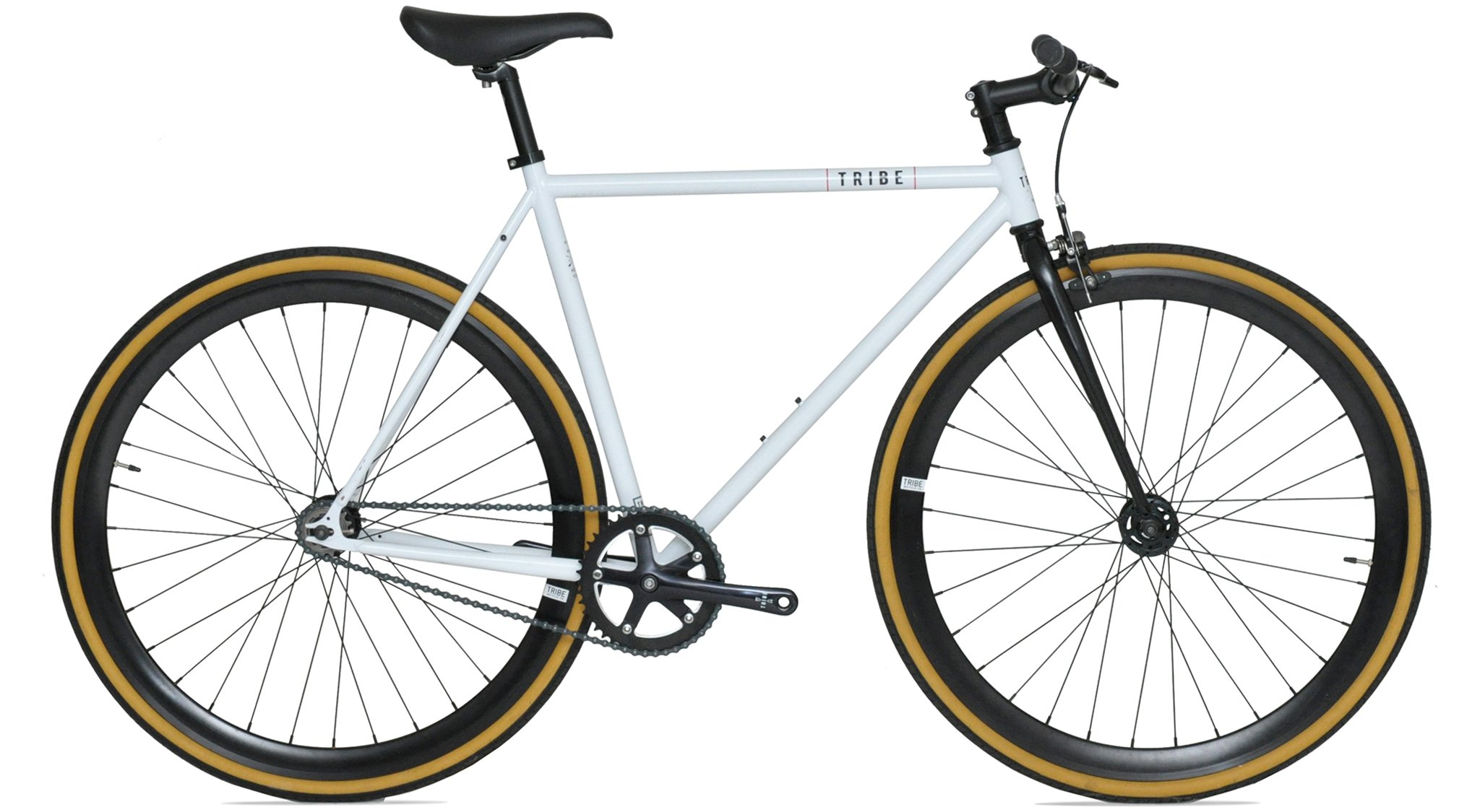Tribe Bicycle Co. Dane Color: Matte White