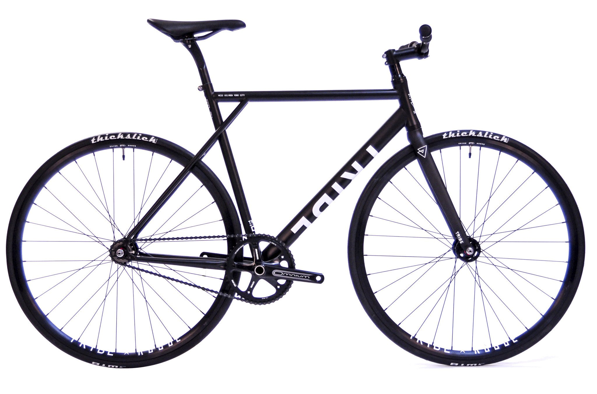 Tribe Bicycle Co. Mess 001 / NY Premium Color: Matte Black