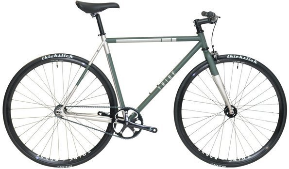Tribe Bicycle Co. Paradigm Color: Army Green/Silver